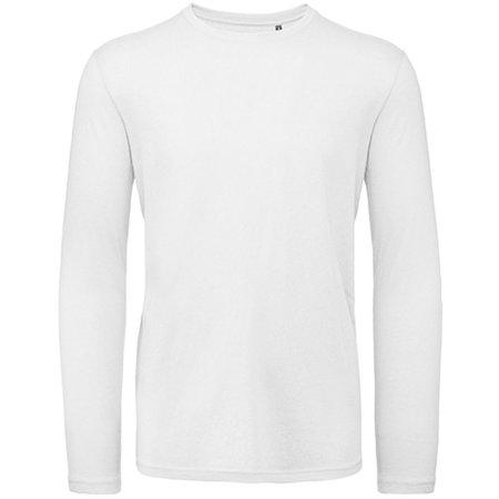 Inspire Long Sleeve T / Men in White von B&C (Artnum: BCTM070