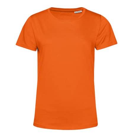 #Organic E150 T-Shirt /Women in Pure Orange von B&C (Artnum: BCTW02B