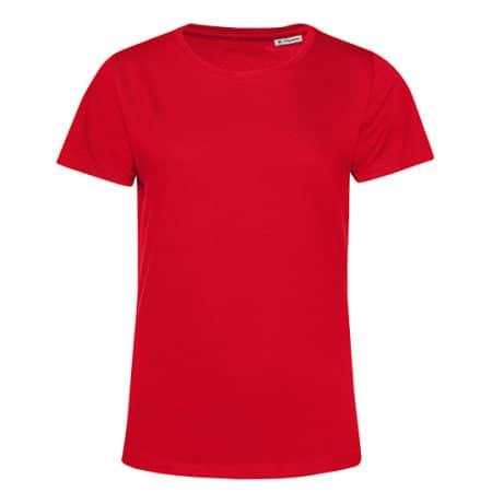 #Organic E150 T-Shirt /Women in Red von B&C (Artnum: BCTW02B