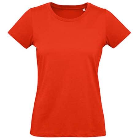 Inspire Plus T / Women in Fire Red von B&C (Artnum: BCTW049