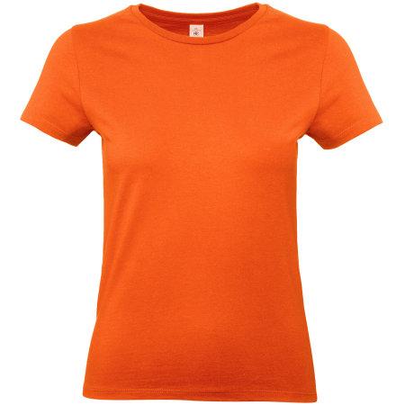T-Shirt #E190 / Women in Orange von B&C (Artnum: BCTW04T