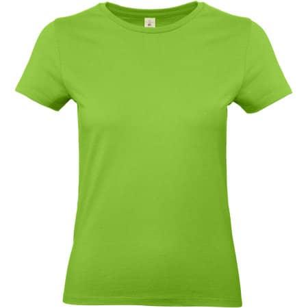 T-Shirt #E190 / Women in Orchid Green von B&C (Artnum: BCTW04T