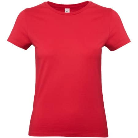 T-Shirt #E190 / Women in Red von B&C (Artnum: BCTW04T