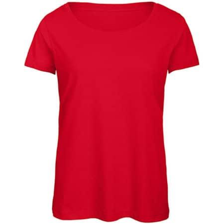 Triblend T-Shirt /Women in Red von B&C (Artnum: BCTW056