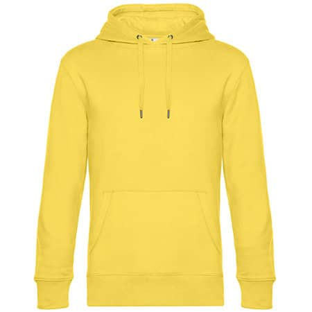 KING Hooded Sweat in Yellow Fizz von B&C (Artnum: BCWU02K