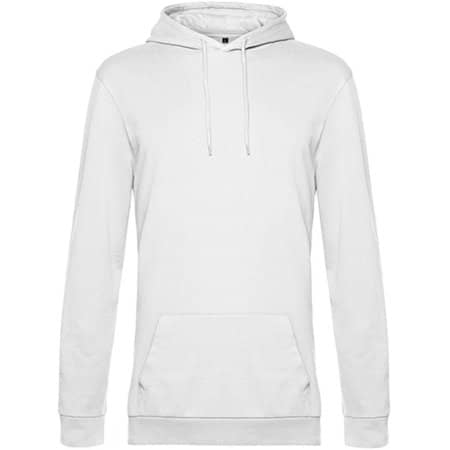 KING Zipped Hood Jacket in White von B&C (Artnum: BCWU03K