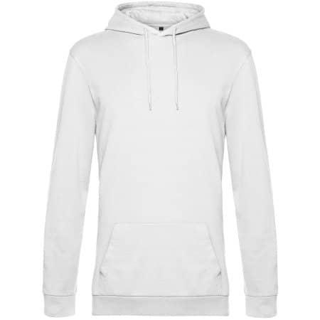 #Hoodie in White von B&C (Artnum: BCWU03W