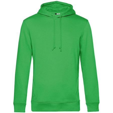 Organic Hooded Sweat in Apple Green von B&C (Artnum: BCWU33B
