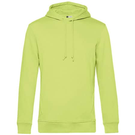 Organic Hooded Sweat in Lime von B&C (Artnum: BCWU33B