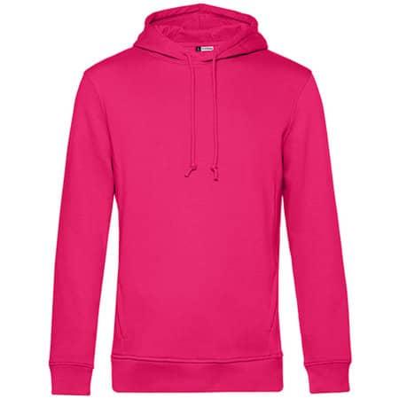 Organic Hooded Sweat in Magenta Pink von B&C (Artnum: BCWU33B