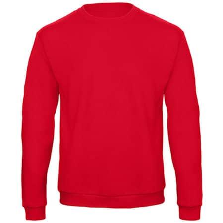 ID202 50/50 Sweatshirt in Red von B&C (Artnum: BCWUI23