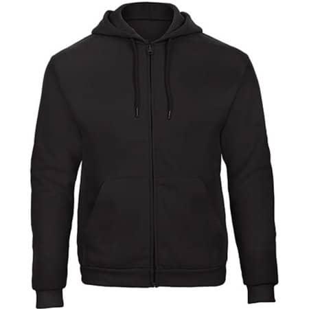ID205 Sweat-Jacket 50/50 in Black von B&C (Artnum: BCWUI25