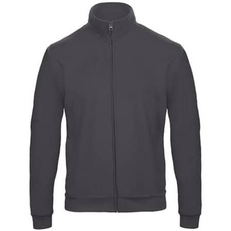 ID206 Sweat-Jacket 50/50 in Anthracite von B&C (Artnum: BCWUI26