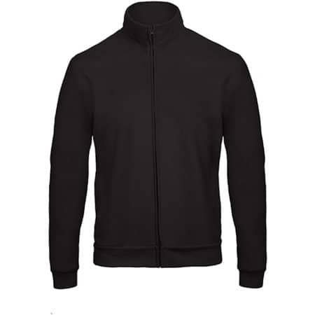 ID206 Sweat-Jacket 50/50 in Black von B&C (Artnum: BCWUI26