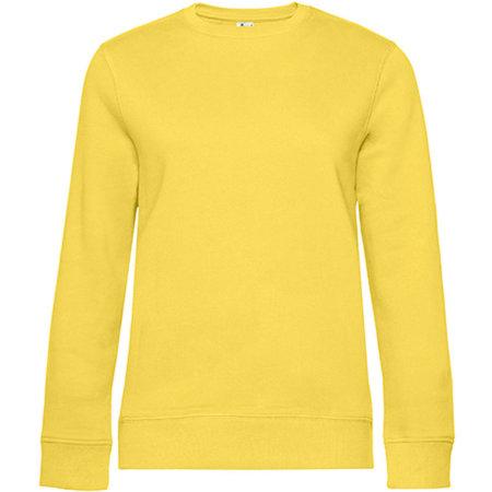 QUEEN Crew Neck Sweat /Women in Yellow Fizz von B&C (Artnum: BCWW01Q