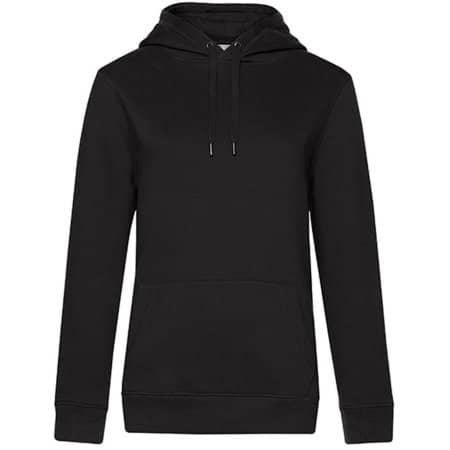 QUEEN Hooded Sweat /Women in Black Pure von B&C (Artnum: BCWW02Q