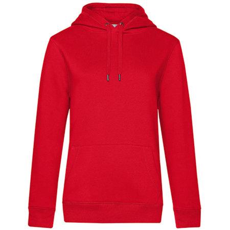 QUEEN Hooded Sweat /Women in Red von B&C (Artnum: BCWW02Q