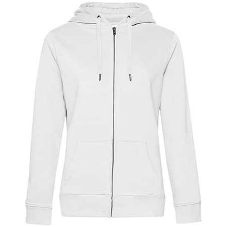 QUEEN Zipped Hood Jacket /Women in White von B&C (Artnum: BCWW03Q