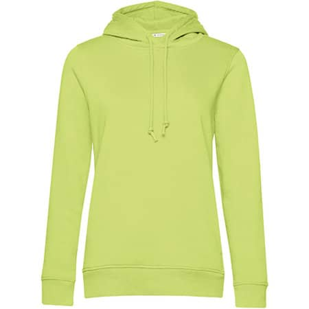 Organic Hooded Sweat /Women in Lime von B&C (Artnum: BCWW34B