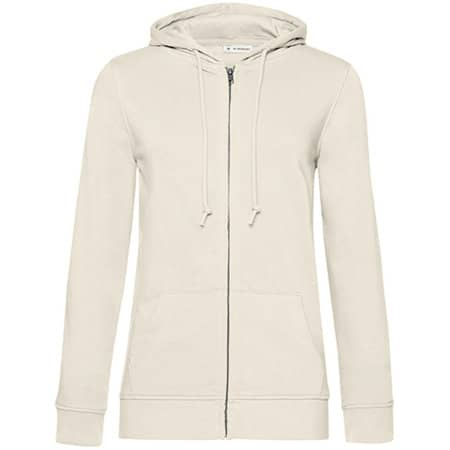 Organic Zipped Hood Jacket /Women von B&C (Artnum: BCWW36B