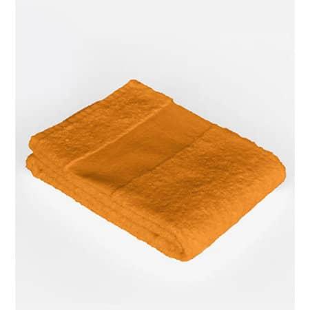 Economy Guest Towel in Sunny Orange (Orange) von Bear Dream (Artnum: BD110