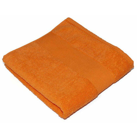 Classic Hand Towel in Sunny Orange (Orange) von Bear Dream (Artnum: BD220