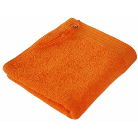 Premium Sport Hand Towel in Orange von Bear Dream (Artnum: BD320