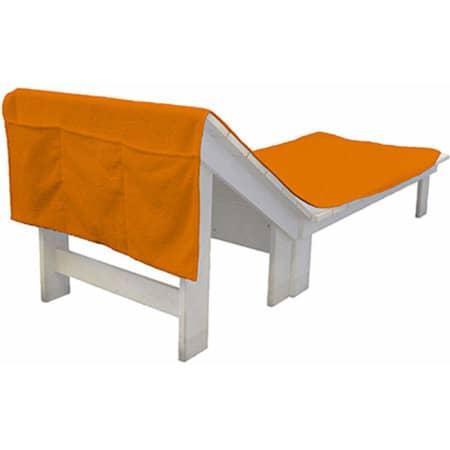 Sun Chair Towel in Sunny Orange (Orange) von Bear Dream (Artnum: BD701N