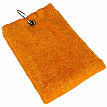 Golf Towels in Sunny Orange (Orange) von Bear Dream (Artnum: BD800
