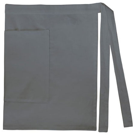 Waist Apron Lady with Pocket Canvas in Anthracite Grey (Grey) von Bear Dream (Artnum: BD821