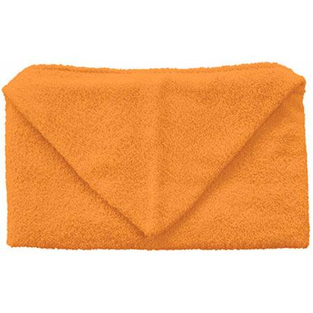 Kids Hooded Towel 360 g/m² in Sunny Orange (Orange) von Bear Dream (Artnum: BD864
