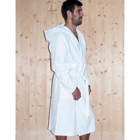 Quick-Dry Bathrobe Hooded / Men von Bear Dream (Artnum: BD964