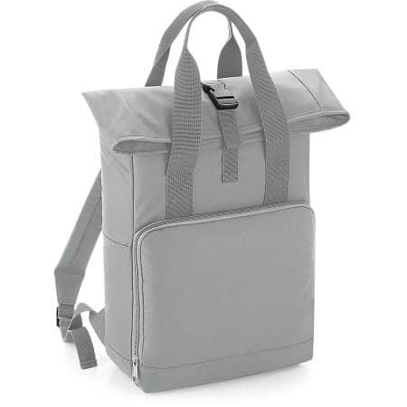 Twin Handle Roll-Top Backpack von BagBase (Artnum: BG118