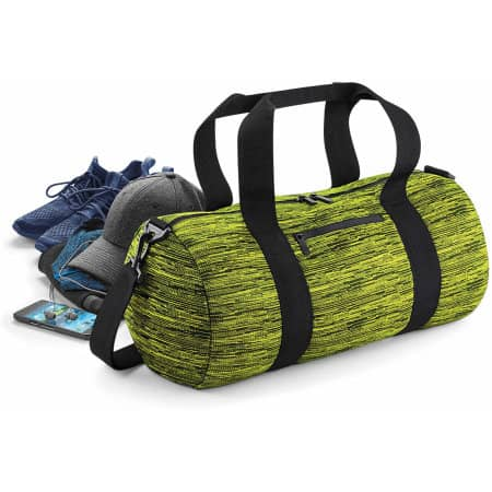 Duo Knit Barrel Bag von BagBase (Artnum: BG196