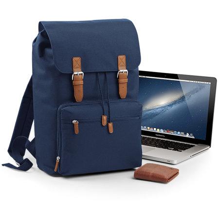 Vintage Laptop Backpack von BagBase (Artnum: BG613