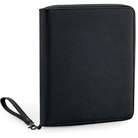 Boutique Travel/ Tech Organiser in Black|Black von BagBase (Artnum: BG756