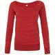 Thumbnail Sweatshirts in : Women`s Sponge Fleece Wide Neck Sweatshirt BL7501 von Bella