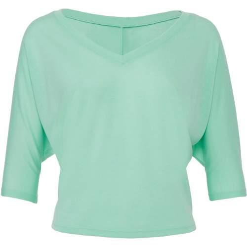 Bella - Boxy Half Sleeve V-Neck T-Shirt
