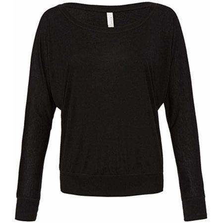 Flowy Off The Shoulder T-Shirt in Black von Bella (Artnum: BL8850