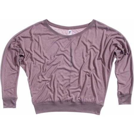 Flowy Off The Shoulder T-Shirt von Bella (Artnum: BL8850