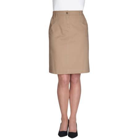 Business Casual Collection Austin Chino Skirt von Brook Taverner (Artnum: BR500
