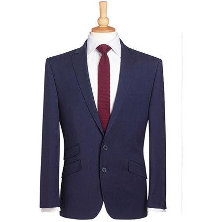 Sophisticated Collection Cassino Jacket in Mid Blue von Brook Taverner (Artnum: BR602