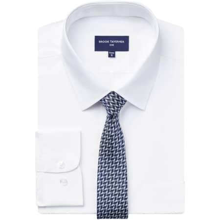 Vesta Short Sleeve Shirt in White von Brook Taverner (Artnum: BR691