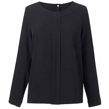 Women`s Roma Long Sleeve Blouse von Brook Taverner (Artnum: BR802