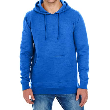 Injected Slub Yarn Dyed Fleece Hoodie von Burnside (Artnum: BU8609