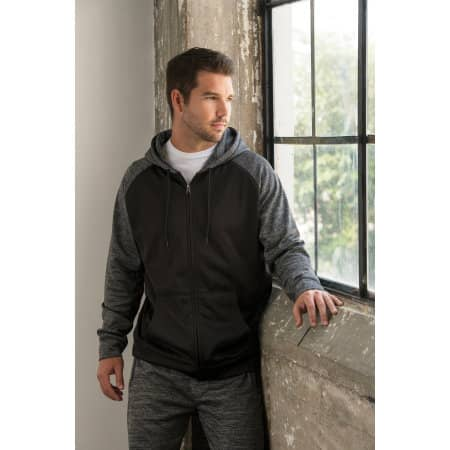 Performance Raglan Hoodie von Burnside (Artnum: BU8660