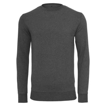 Light Crew Sweatshirt von Build Your Brand (Artnum: BY010