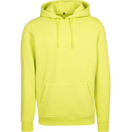 Heavy Hoody in Frozen Yellow von Build Your Brand (Artnum: BY011