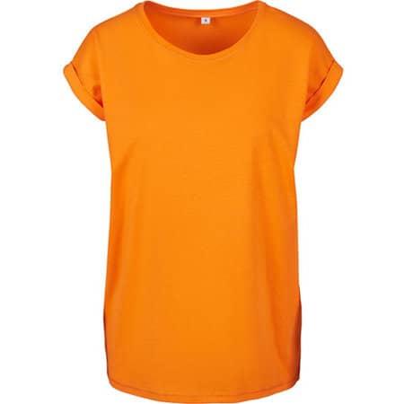 Ladies` Extended Shoulder Tee in Paradise Orange von Build Your Brand (Artnum: BY021