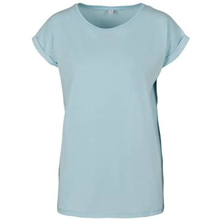 Ladies` Extended Shoulder Tee von Build Your Brand (Artnum: BY021